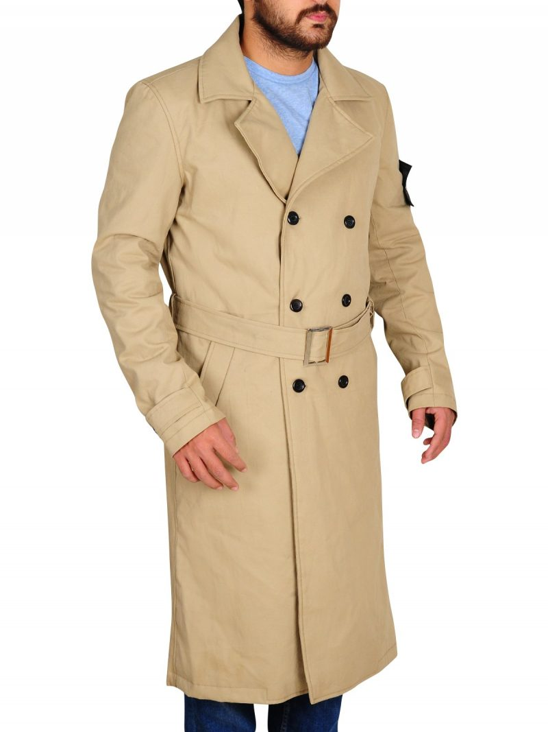 Charlie Hunnam Green Street Stylish Coat