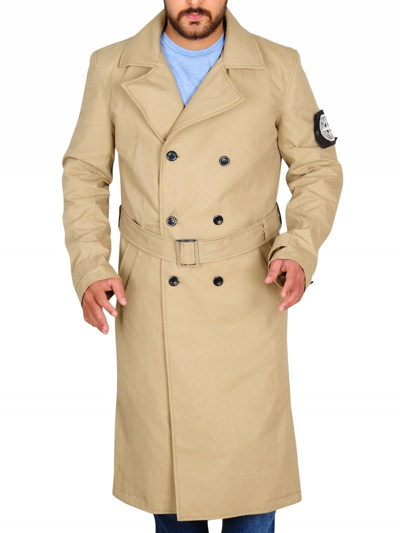 Charlie Hunnam Green Street Trench Coat