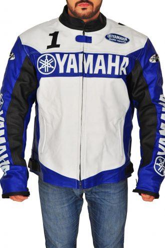 Yamaha Moto Biker Champion Joe Rocket Leather Jacket