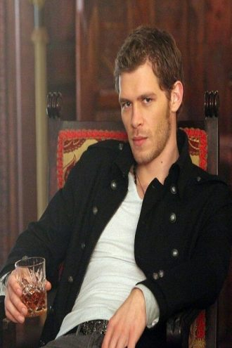 The Vampire Diaries Klaus Mikaelson Black Jacket