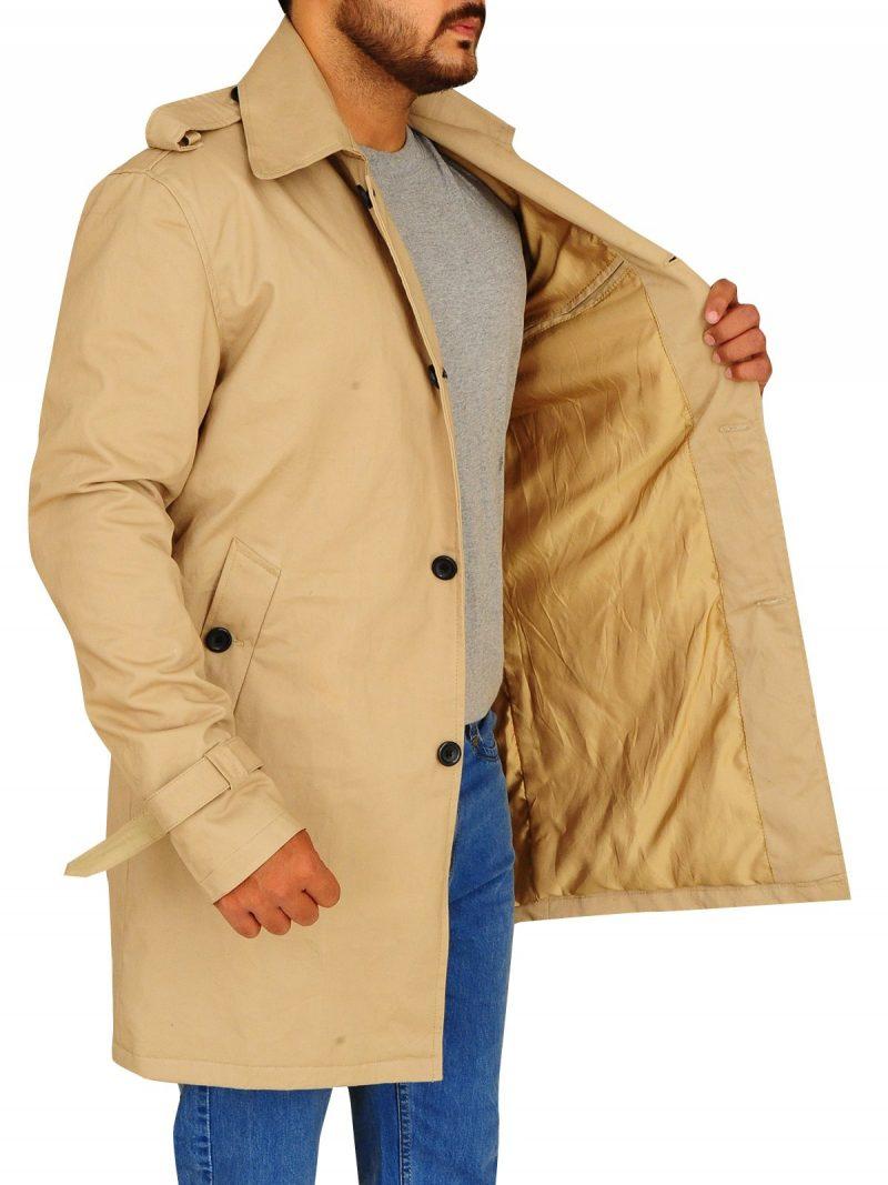 John Constantine Arrow Season 4 Matt Ryan Trench Coat