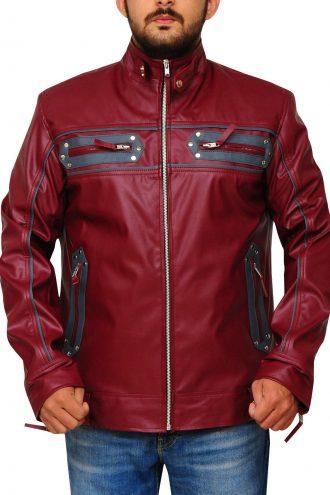 Kellan Lutz Monarchs Ceremonial Leather Jacket