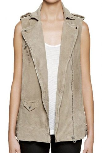 Billie Piper Doctor Who Leather Vest