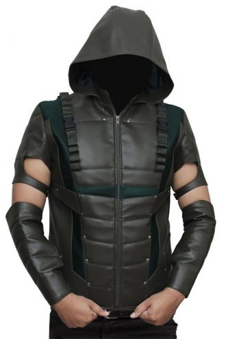 Flash Series Oliver Queen Cosplay Hood