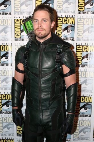 Flash Series Oliver Queen Hood Costume