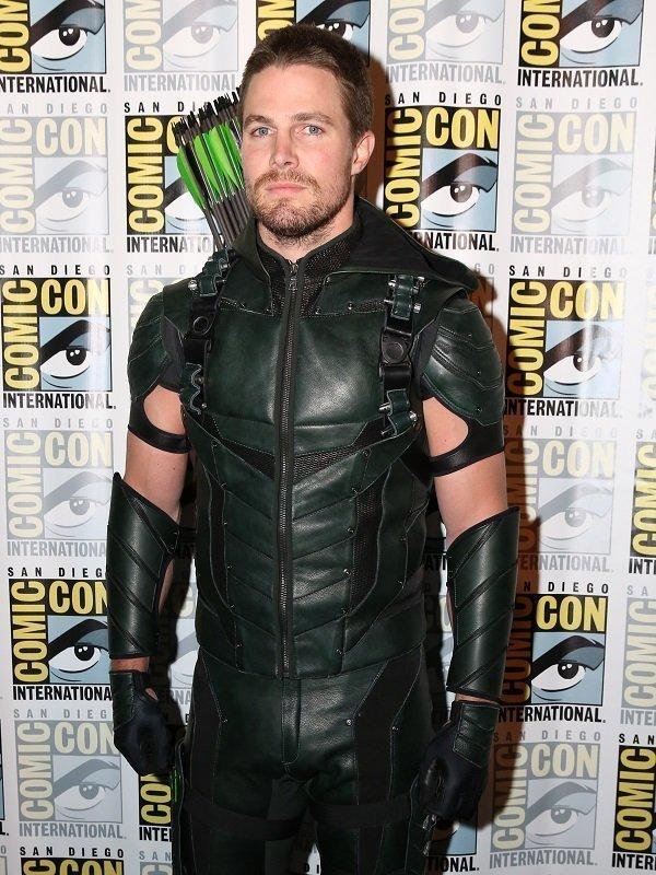 Flash Series Oliver Queen Hood Costume