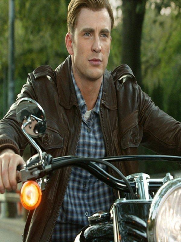 Captain America Locomotive Stylish Jacket