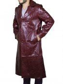 Jared Leto Suicide Squad Joker Long Coat