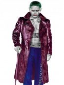 Jared Leto Suicide Squad Joker Trench Coat