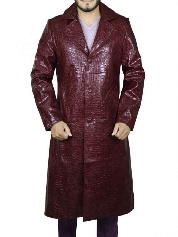 Jared Leto Suicide Squad Joker Coat