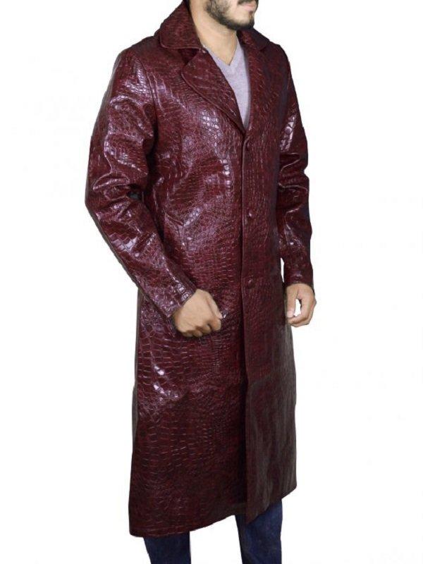 Jared Leto Suicide Squad Joker Leather Coat