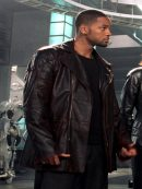Del Spooner I Robot Will Smith Leather Jacket
