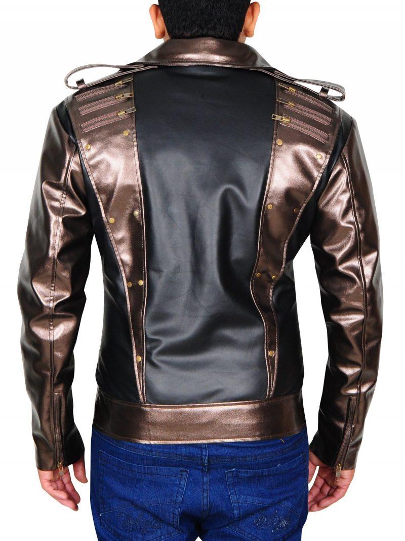 Quicksilver Evan Peters Leather Jacket
