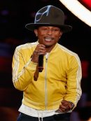 Famous Rapper Pharrell Williams Leather Jacket