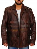 WWE Bray Wyatt Leather Brown Jacket