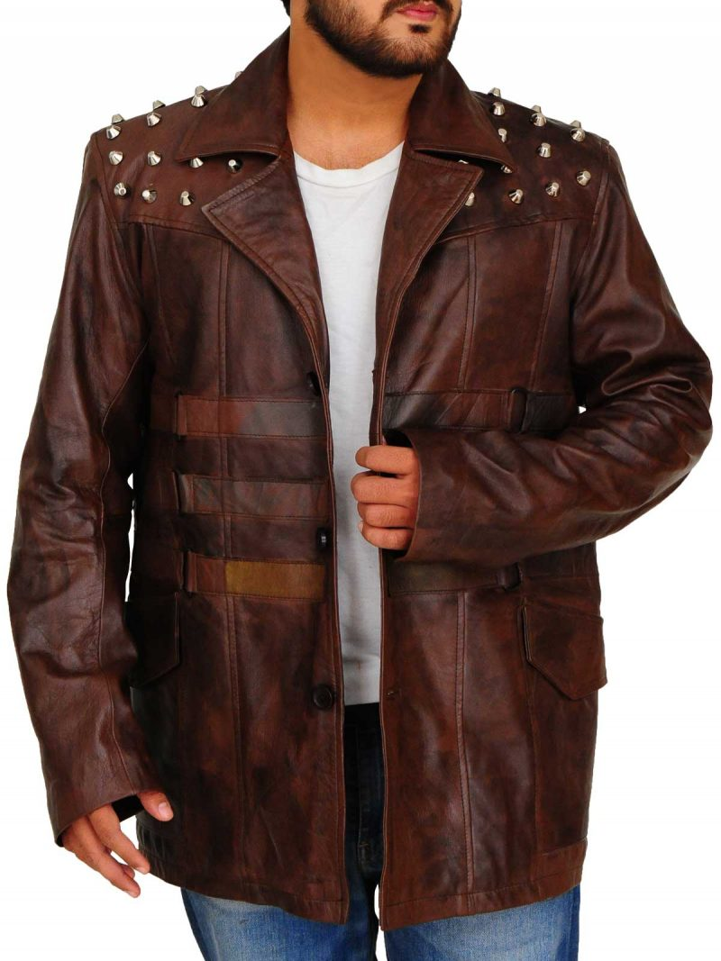 Wrestler Bray Wyatt Leather Jacket
