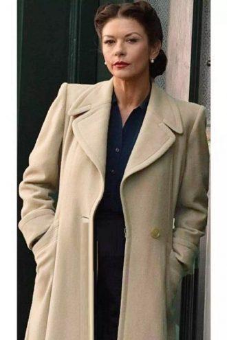 Catherine Zeta-Jones Dad's Army Coat
