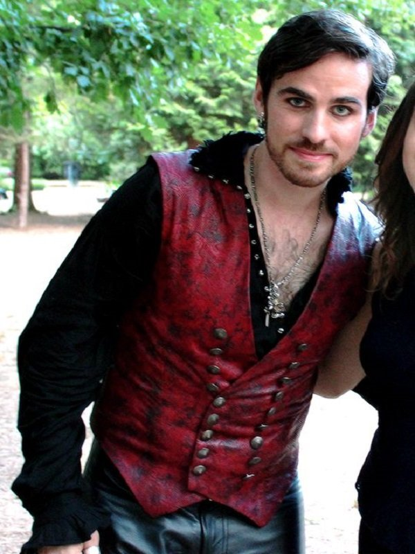 Captain Hook Once Upon a Time Vest