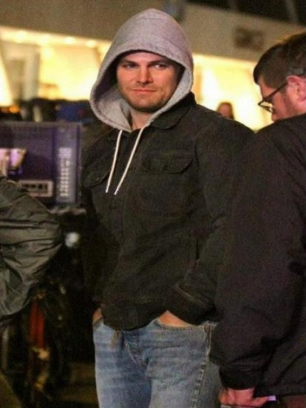 TMNT Out of the Shadows Stephen Amell Jacket