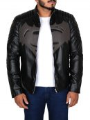 Batman V Superman Black Leather Jacket