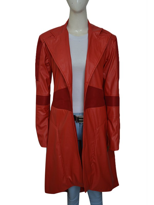 Marvel Scarlet Witch Cosplay Coat