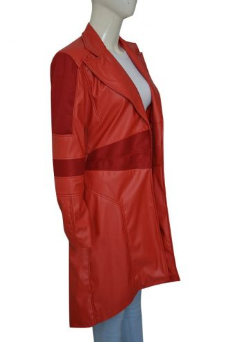 Scarlet Witch Super Heroine Costume Coat