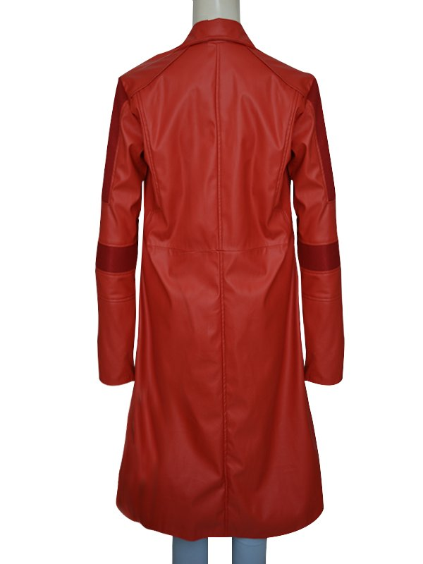 Scarlet Witch Super Heroine Cosplay Coat