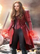 Scarlet Witch Stylish Cosplay Coat