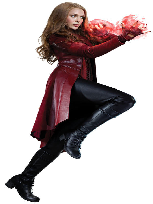 Scarlet Witch Cosplay Costume Coat