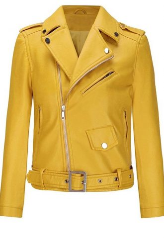 Women's Classic Slim-Fit Yellow Jacket