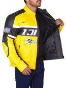 Chuck Greene Biker Leather Jacket