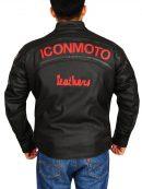 Cherry Darling Planet Terror Men Motorcycle leather Jacket