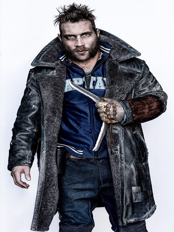 Suicide Squad Captain Boomerang Trench Coat