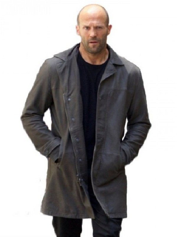 Jason Statham Fast 8 Deckard Shaw Coat