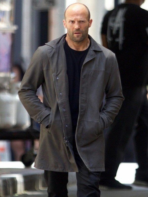 Fast and Furious 8 Jason Statham Long Coat