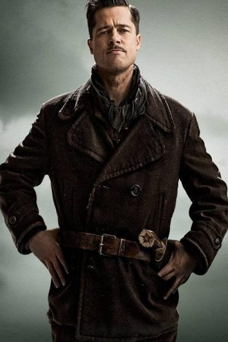 Inglourious Basterds Brad Pitt Coat