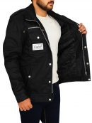 WWE Wrestler Goldberg Returns Black Jacket