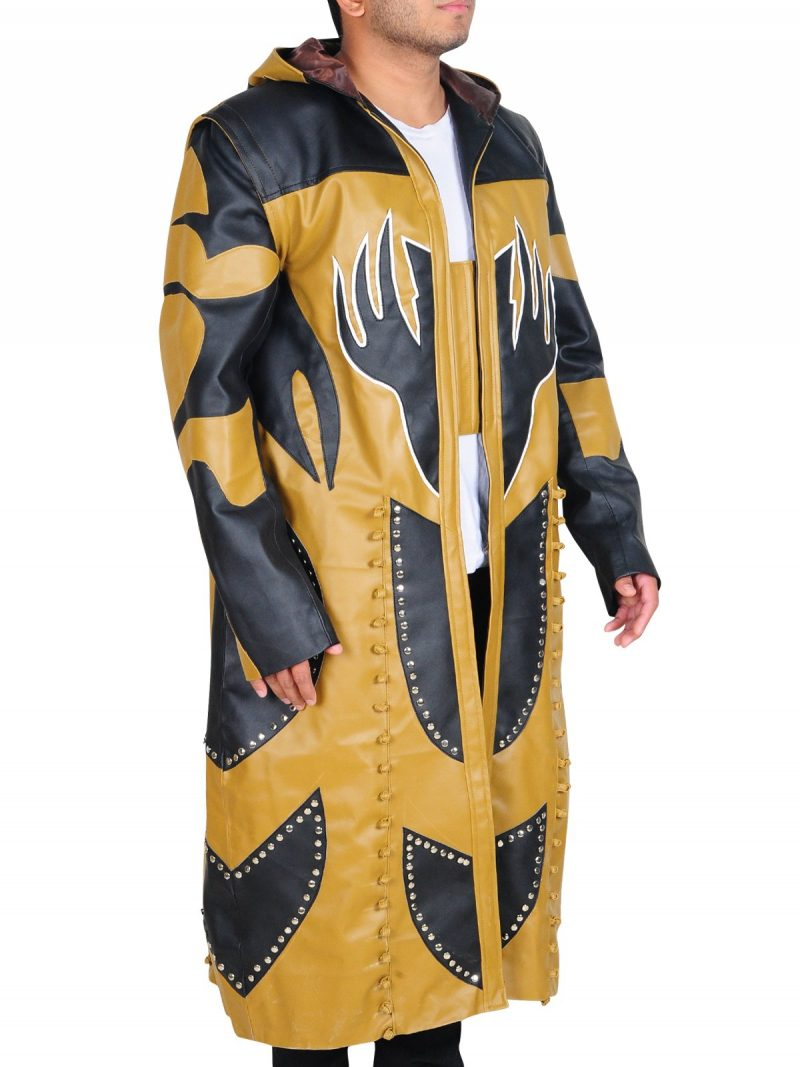 Goldust Costume Leather Coat