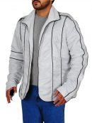 Michael Jackson Stylish Silver Jacket