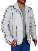 Michael Jackson Elegant Silver Jacket