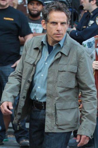 Ben Stiller Stylish Cotton Jacket