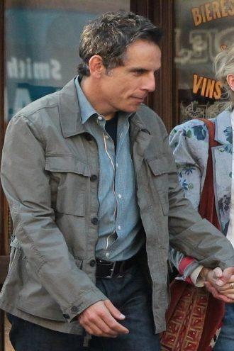 Ben Stiller Stylish Grey Jacket