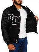 Diamond Dogs Big Boss Varsity Black Jacket