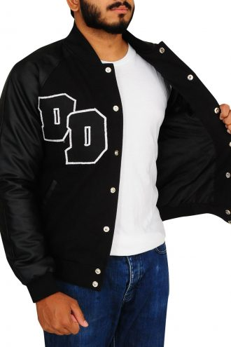 Diamond Dogs Big Boss Varsity Black Jacket