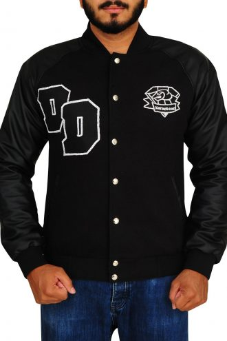 Diamond Dogs Big Boss Varsity Letterman Black Jacket