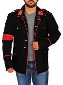 Fancy Dress Michael Jackson Black Military Jacket