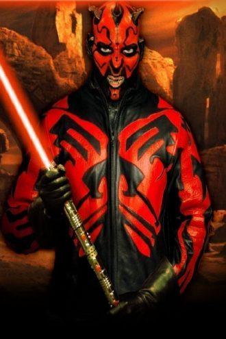 Star Wars Darth Maul Leather Jacket