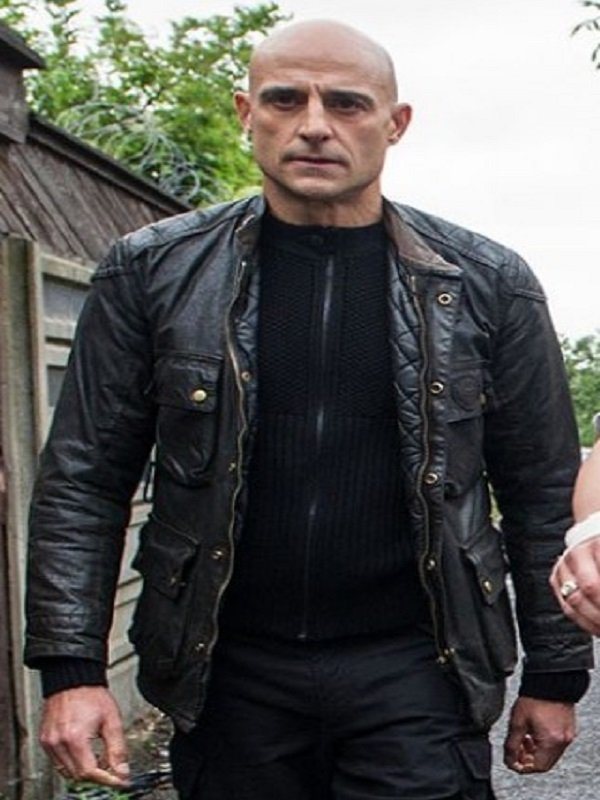 Mark Strong Brothers Grimsby Leather Jacket