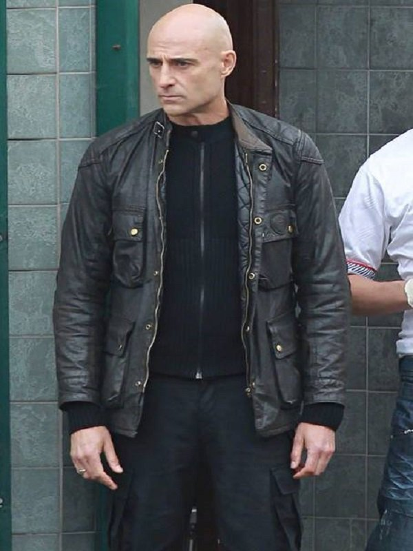 Mark Strong Brothers Grimsby Black Jacket