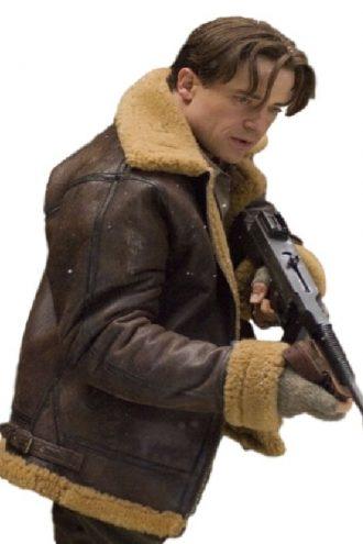 Brendan Fraser Mummy 3 Shearling Jacket